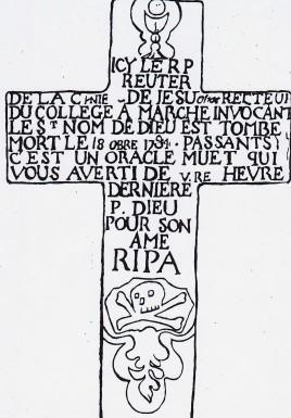 Dessin croix Reuter