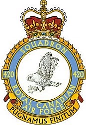 420 RCAF Sqn badge