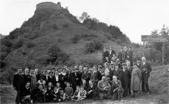 Excursion à Logne 1928
