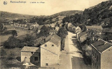 remouchamps entrée du village